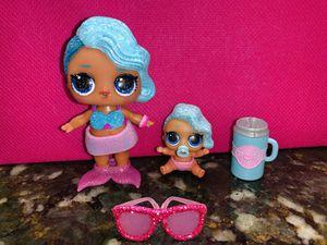 Rare Splash Queen LOL Doll Bundle lil sister for Sale in Miami, FL