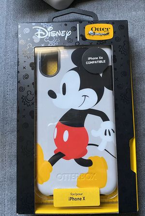 Disney Mickey Mouse iPhone X / XS Otter Box Case for Sale in San Antonio, TX
