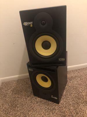 KRK ROKIT 8 Pair Studio Monitors / Speakers for Sale in Bay City, MI