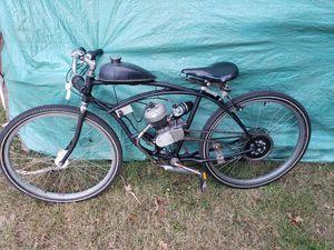 Schwinn cruiser cafe style bike with 80cc motor for Sale in Milwaukie, OR