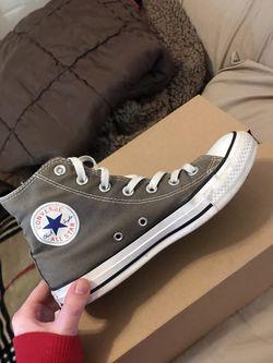 Grey Converse for Sale in Smyrna,  TN