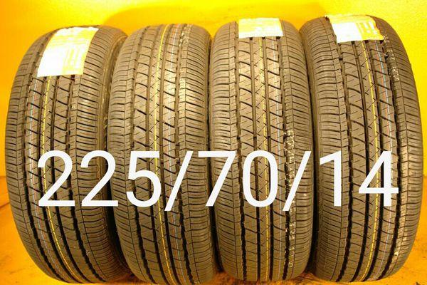4 New tires 225/70/14 llantas nuevas