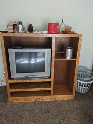 Entertainment center and TV free for Sale in Show Low, AZ
