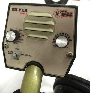 Tesoro Silver Umax Metal Detector for Sale, used