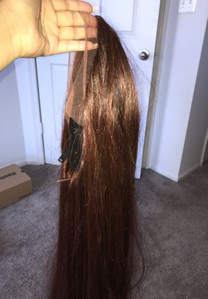 LACE SYNTHETIC BROWN/RED WIG for Sale in College Park, MD