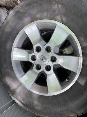 2015 Toyota 4Runner wheels and LT tires for Sale in Aurora, CO