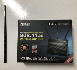 ASUS RT AC68U gigabite router for Sale in Tempe, AZ