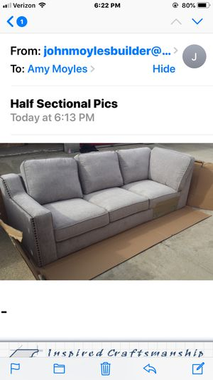 Brand new couch (part of Sectional) for Sale in Redlands, CA