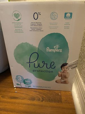 Pampers Pure Diapers for Sale in Miami, FL
