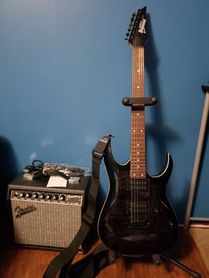 Ibanez gio guitar with amp for Sale in Laurel, DE