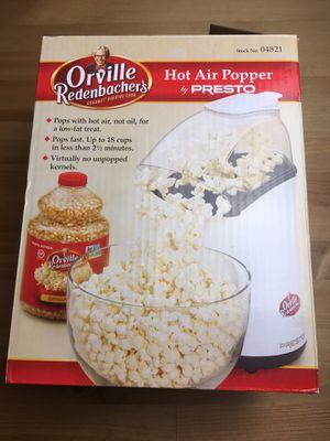 Hot Air Popcorn Popper Presto Orville Redenbacher for Sale in Atlanta, GA