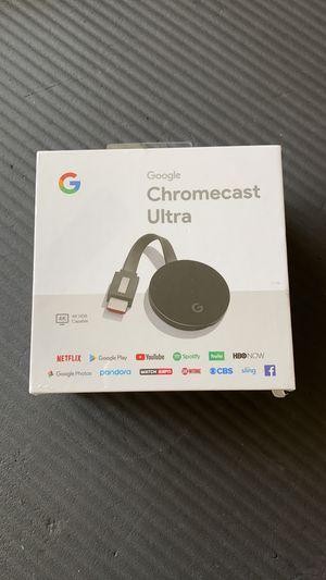 Chromecast Ultra New for Sale in Boca Raton, FL