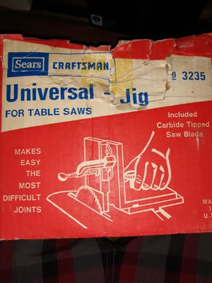 Sears Craftsman Universal jig for table saws 9 3235 for Sale in Rapid City, SD