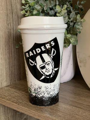 Grande raiders Starbucks glitter cup for Sale in Gilroy, CA