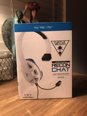 Turtle Beach Ear Force Recon Chat Headset for Sale in San Juan Bautista, CA