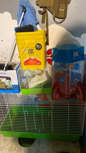 Bird cage ... rabbit cage ... hamster .. gerbil cage and more for Sale in Burbank, IL
