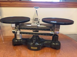 Vintage Welch Double Pan Balance for Sale in Southfield, MI