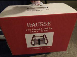 Hausse Fire escape ladder, 2 story 13 ft (NIB) for Sale in Gilbert, AZ