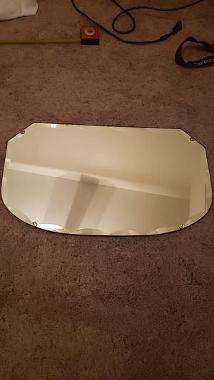 Antique wall hanging Mirror beveled edges. 27 x 16 for Sale in Tucson, AZ
