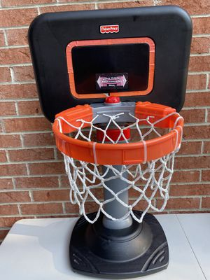 Fisher price adjustable kids basketball goal for Sale in Raleigh, NC