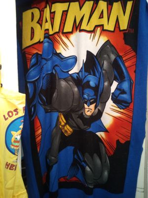Lightweight fleece Batman blanket for Sale in San Angelo, TX