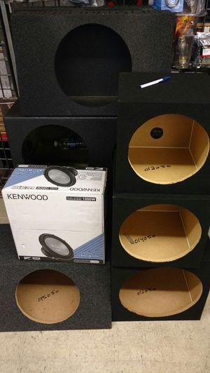 Custom speaker boxes for Sale in Houston, TX