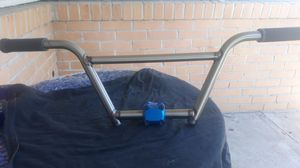 S&M 4-pc BMX Cruiser bars w/50mm stem raw for Sale in Concord, CA