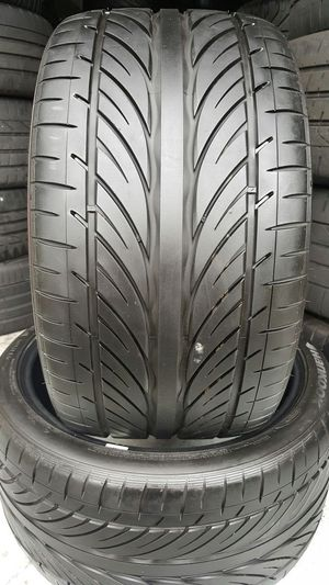 295/30/19 HANKOOK 99% TREAD TAKE OFFS for Sale in Tampa, FL
