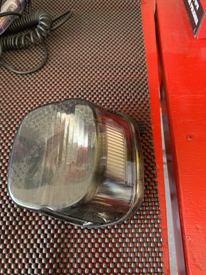 Harley Davidson Smoked Taillight with Led Bulb for Sale in Fresno, CA