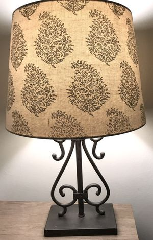 World market lamp and lampshade for Sale in Los Angeles, CA