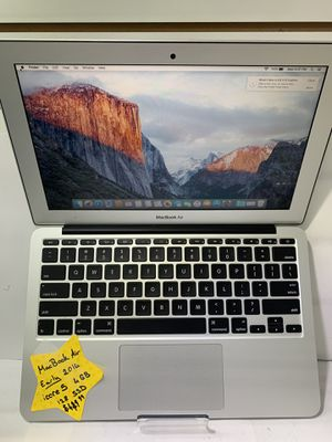 MacBook Air 11in Early 2014 Core i5 4GB 128GB SSD for Sale in Orlando, FL
