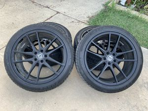 """20"""" Rims and tires for Sale in Dallas, TX"""