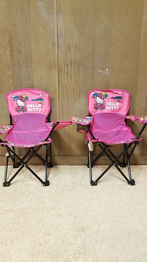 Hello kitty folding chair for kids