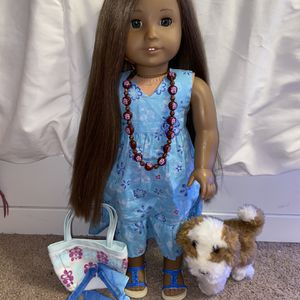 Kanani Girl Of The Year American Girl Doll (retired) for Sale in Indianapolis, IN