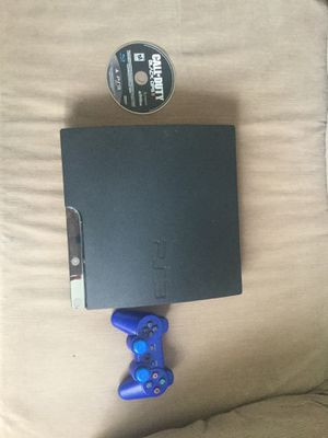 Ps3 with controller and game for Sale in St. Louis, MO