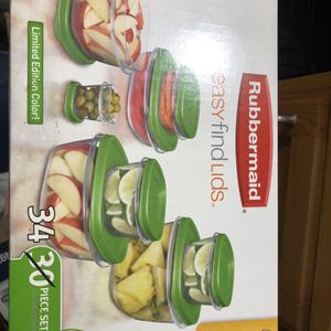 Rubbermade Containers with Easy Find Lids for Sale in Chino Hills, CA