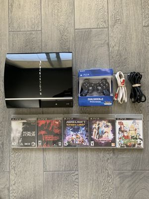 160GB PlayStation PS3 Bundle for Sale in Chino Hills, CA