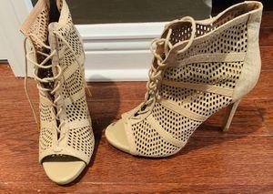 Women open toe booties for Sale in La Grange, IL