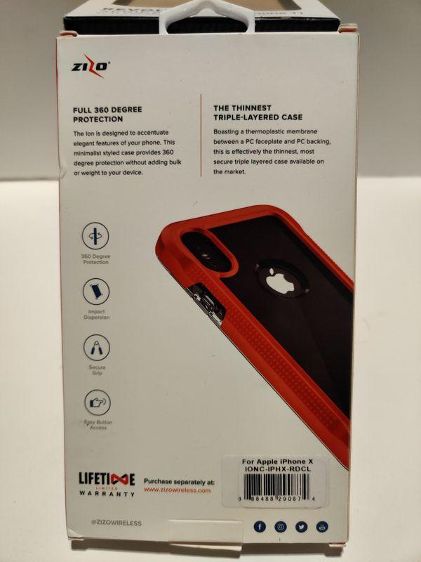 Zizo/ iPhone X/ Phone Case.