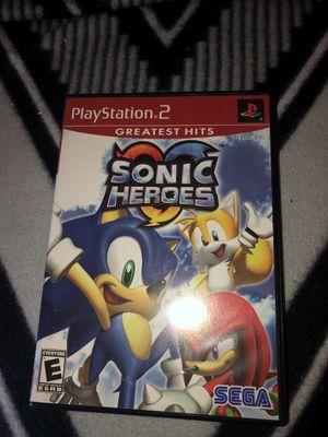 Sonic Heroes Game PS2 for Sale in Atlanta, GA