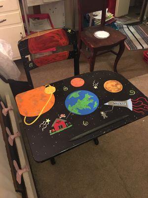 Child's space theme desk for Sale in Alexandria, VA