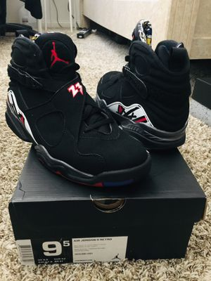 """SZ 9.5 Air Jordan 8 Retro """"Playoff"""" 2013 New in the Box for Sale in Lakeside, CA"""