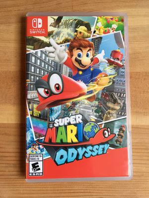 🔥NINTENDO SWITCH GAME🔥 - 🔥SUPER MARIO ODYSSEY🔥 - 🔥 PERFECT CONDITION🔥 for Sale in Los Angeles, CA