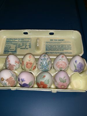Hand painted eggs for Sale in Sugar Hill, GA