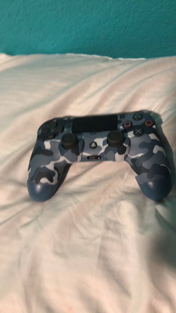 PS4 controller only used it ones
