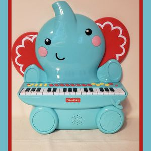Fisher Price Music - Keyboard/Piano - Elephant - Great for Kids Play & Early Learning for Sale in Hammond, IN
