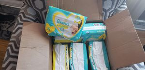 Newborn pampers diapers and pamper diapers size 1 for Sale in Merrillville, IN