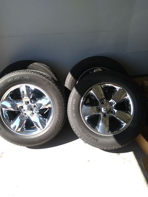 Dodge wheels and tires for Sale in Goodyear, AZ