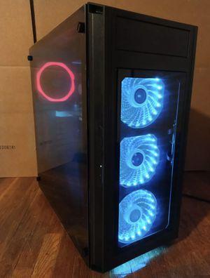 Custom Build Gaming PC Desktop Computer Intel i5 3.20GHz,8GB,Win10,RGB,WIFI for Sale in Hillsborough, CA