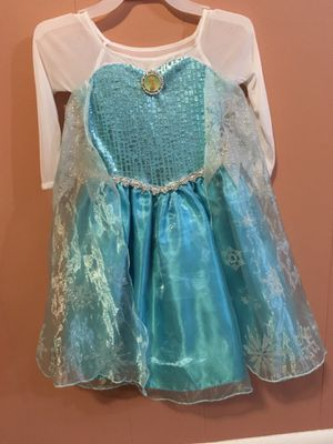 Frozen costume size 3/with shoes size 7 for Sale in Nashville, TN